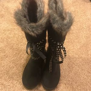 JustFab Shoes - Black boots